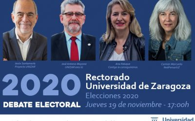 Debate al Rectorado de UNIZAR – 19 Nov., 2020