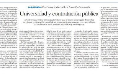 Universidad y contratación pública